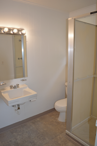 Bathroom in our Upper Level units