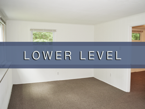 Photos of our lower level units at Orchard Acres Apartments